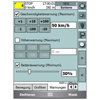 MASPware GPSmeter Professional Edition