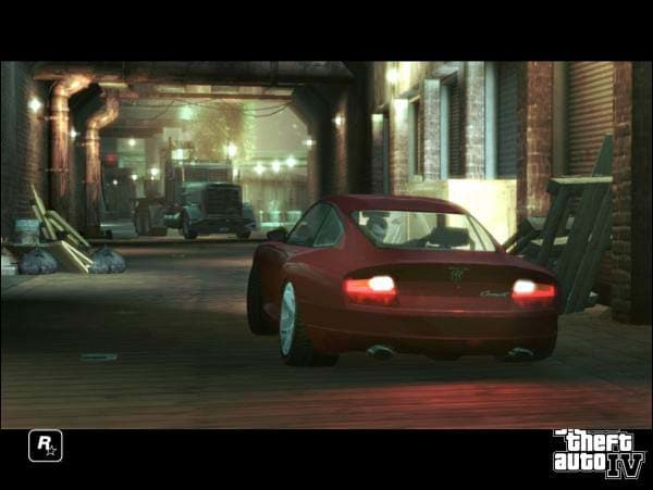 Grand Theft Auto IV Screenshot Screensaver