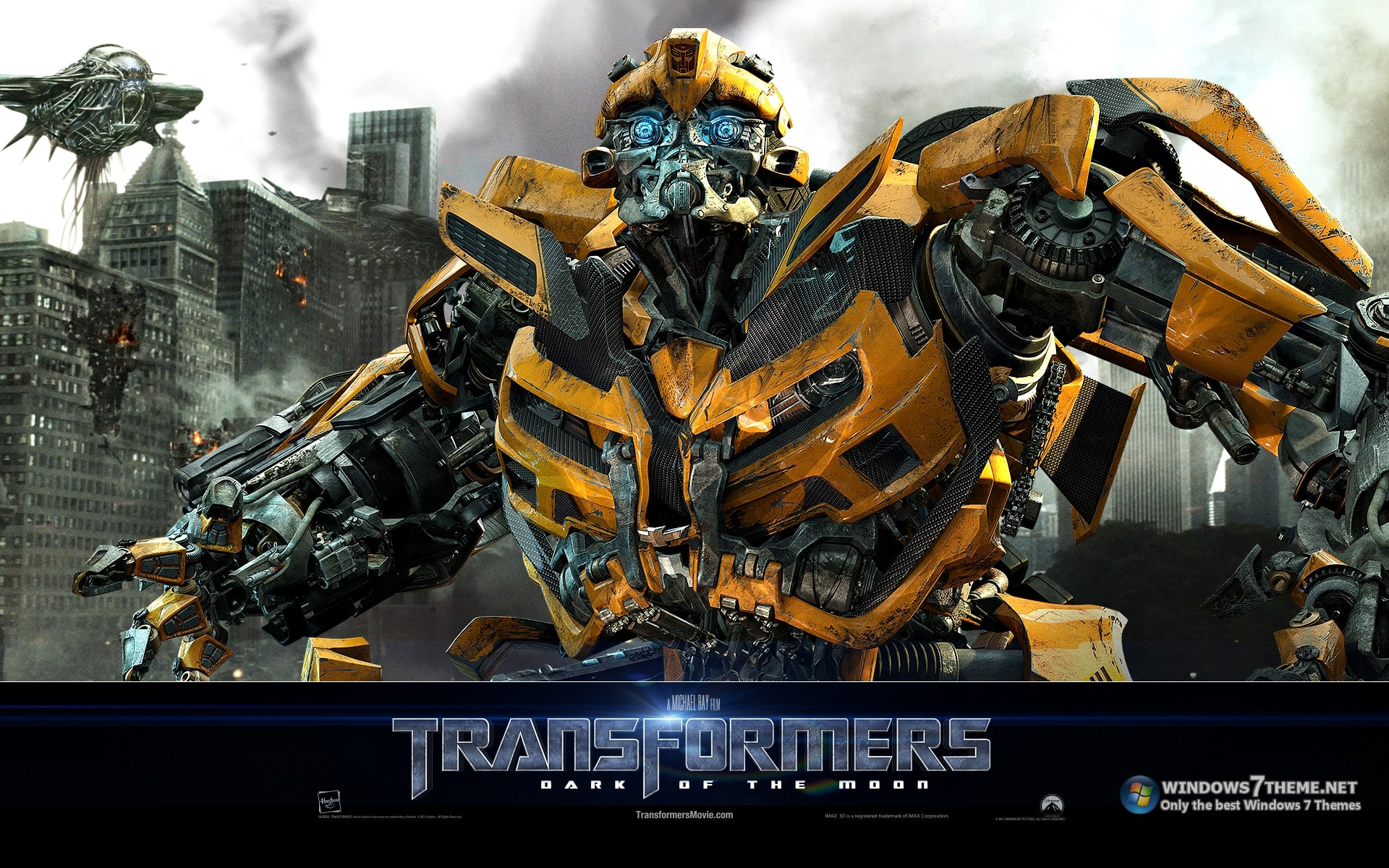 Transformers 3 Theme para Windows 7