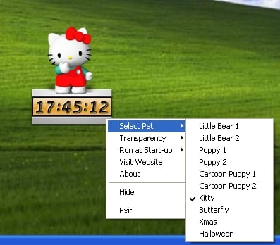 Desktop Pet Clock