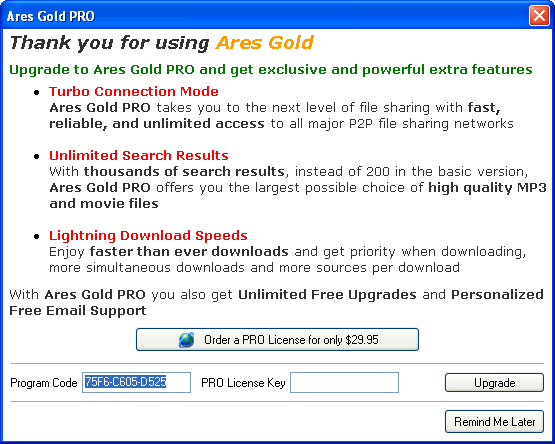 Ares Gold