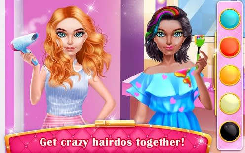 Mall Girl Dressup Shop  Spa  Free Makeup Games