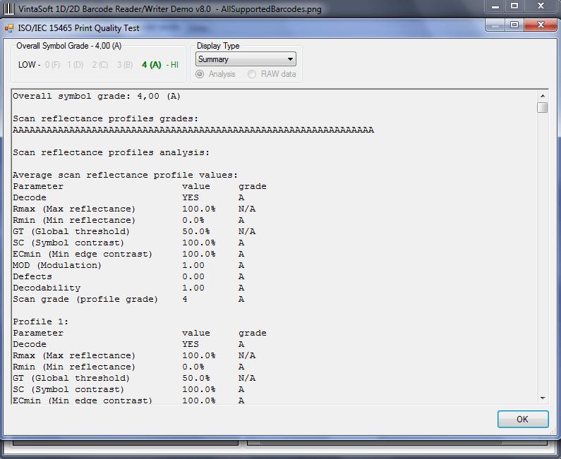 VintaSoftBarcode.NET SDK