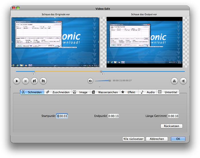 Bigasoft iPad Video Converter for Mac