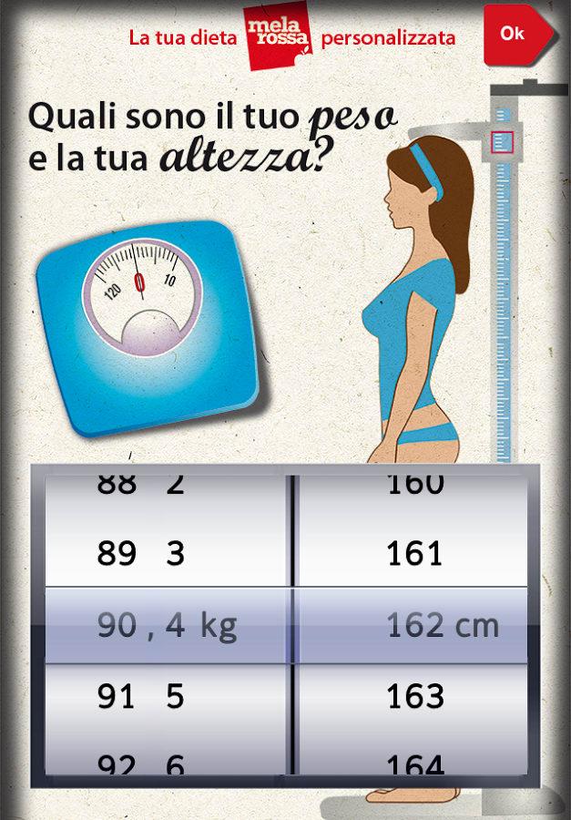 Melarossa - La tua dieta personalizzata