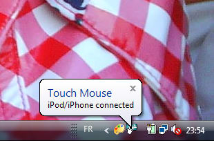 Logitech Touch Mouse Server