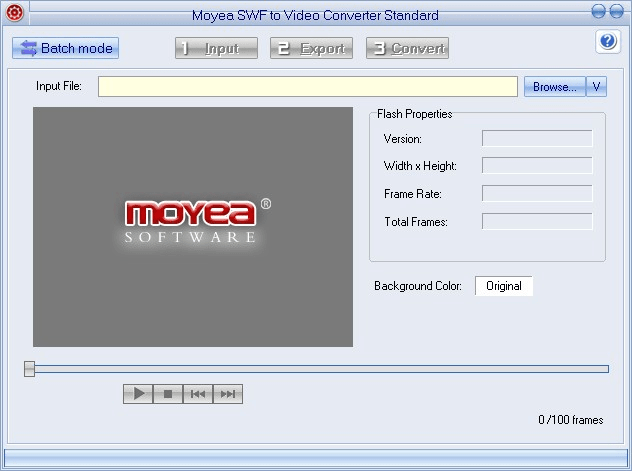 Moyea SWF to Video Converter