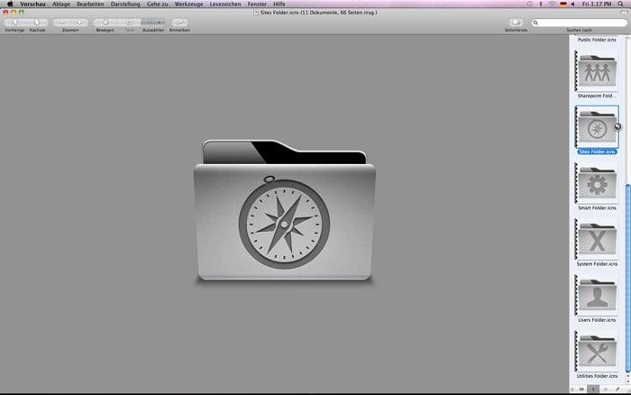 Uni Folder Icons