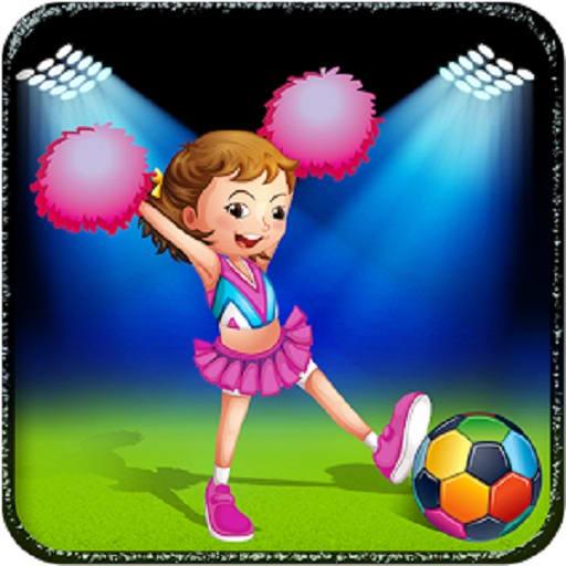 Princess Cheerleading Girl