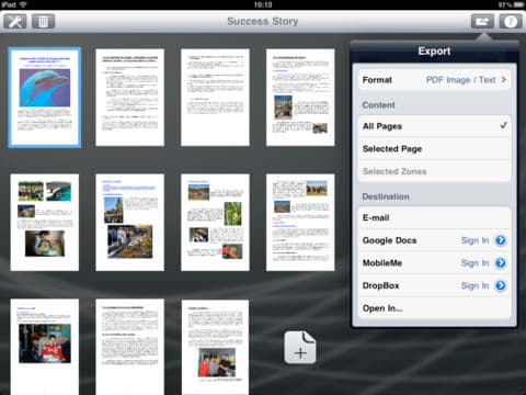 Readiris for iPad - OCR App