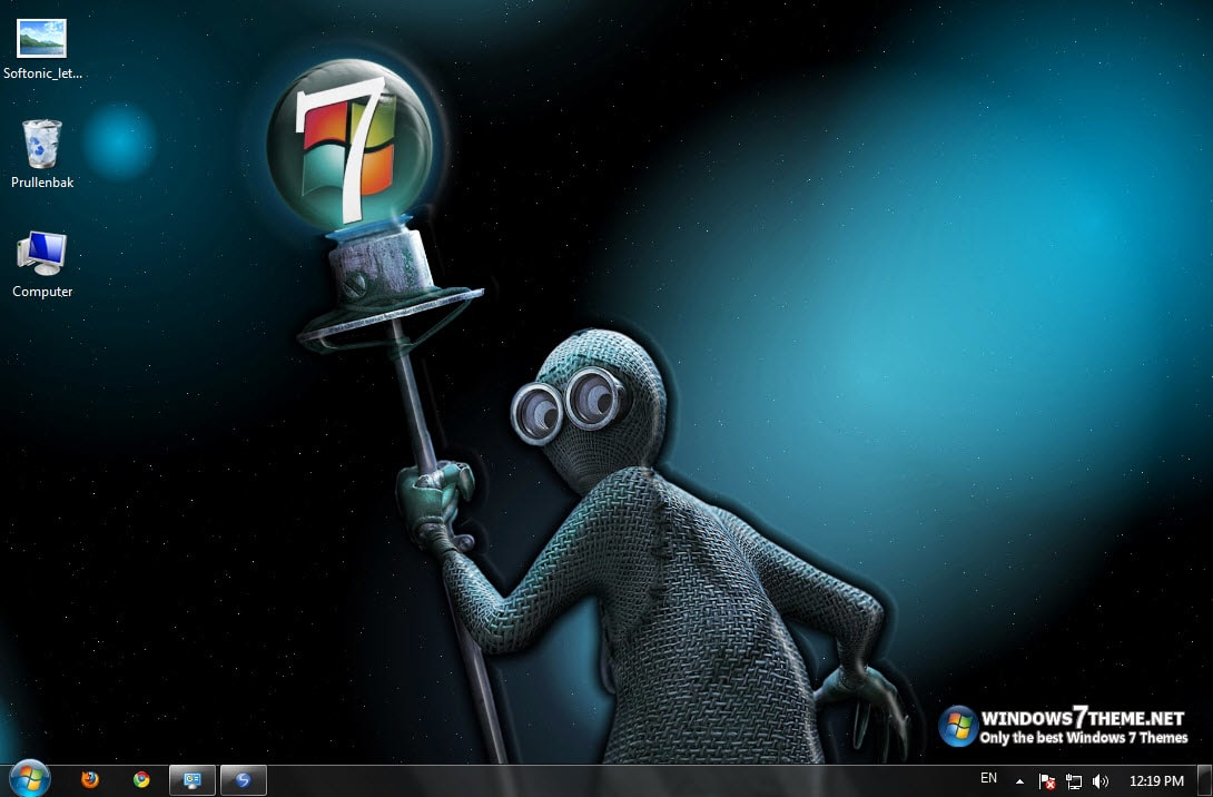 Windows 7 Dark Theme