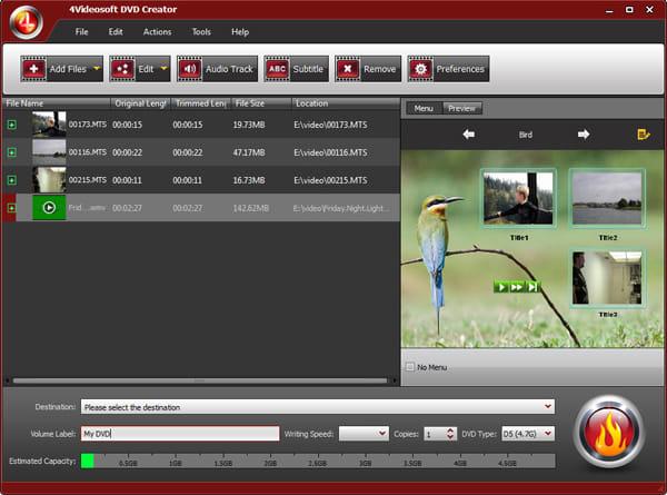 4Videosoft DVD Creator