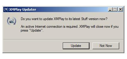 XMPlay Stuff Updater