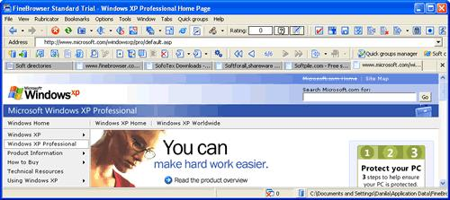 FineBrowser Freeware