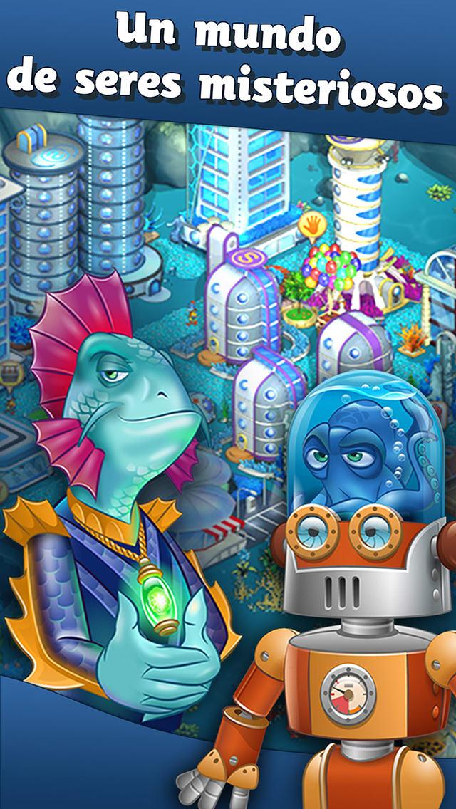 Aquapolis - ciudad bajo el agua y la granja