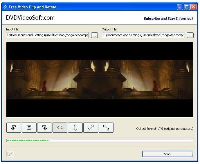 Скачать программу free video flip and rotate