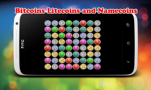 Monedas Crypto juego de Match