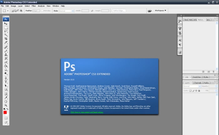 Adobe Photoshop CS3 Update per Mac