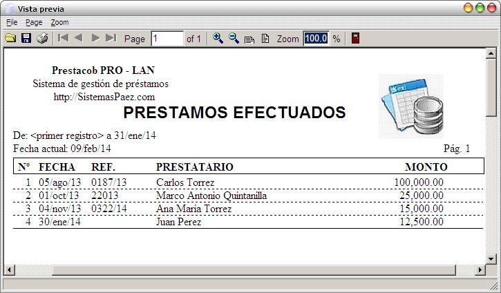 Prestacob PRO-LAN