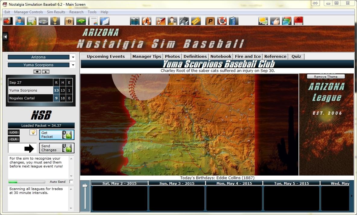 Nostalgia Sim Baseball