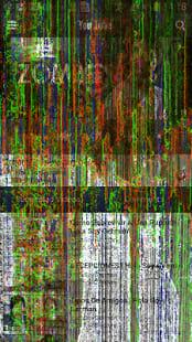 Broma de la pantalla agrietada