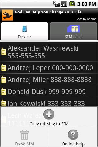 Contact2Sim