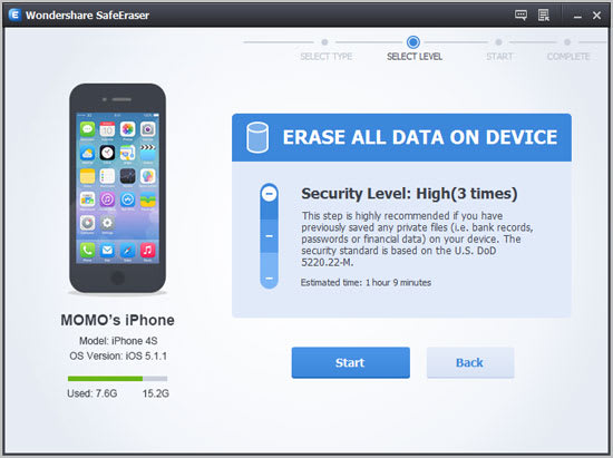 Vibosoft iPhone/iPad/iPod Data Eraser