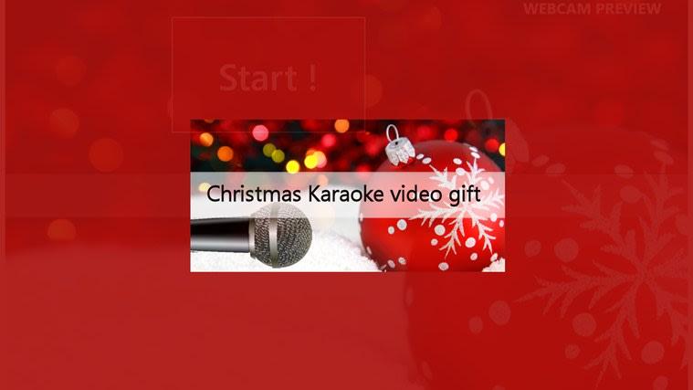 Christmas karaoke for Windows 10