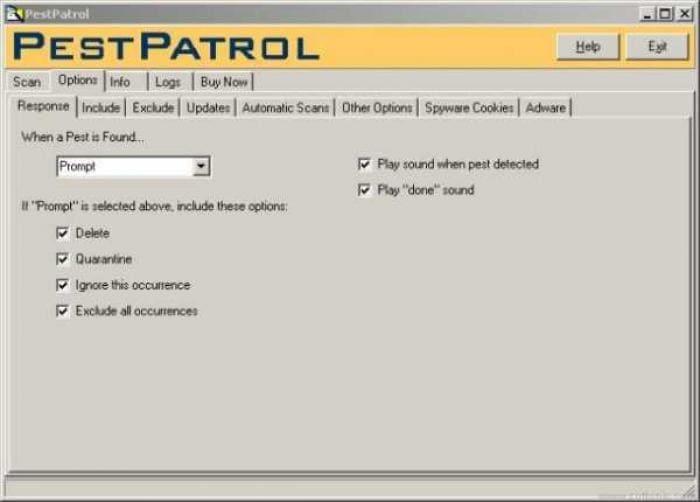 PestPatrol Personal Edition