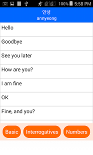 Hablar Coreano