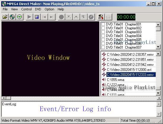 MPEG4 Direct Maker