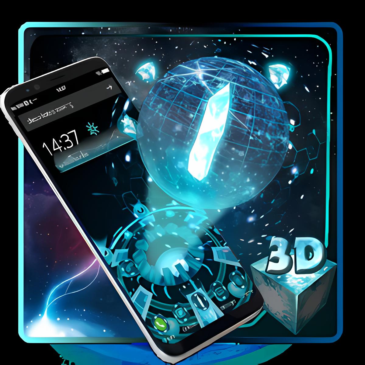 3D Next Tech 2 Plus Launcher 1.1.2