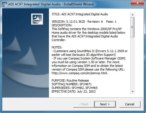 ADI198X AUDIO WINDOWS 8.1 DRIVER