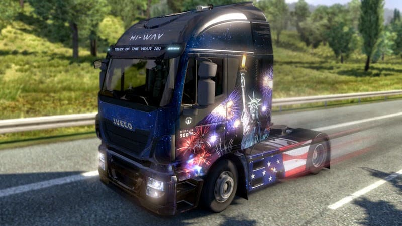 Euro Truck Simulator 2 - USA Paint Jobs Pack
