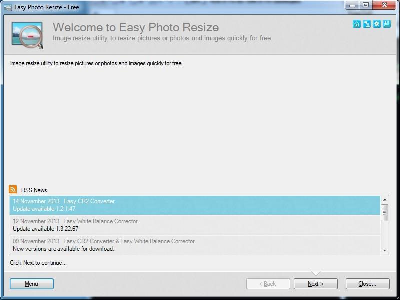 Easy Photo Resize