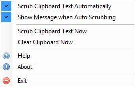 Clipboard Text Scrubber