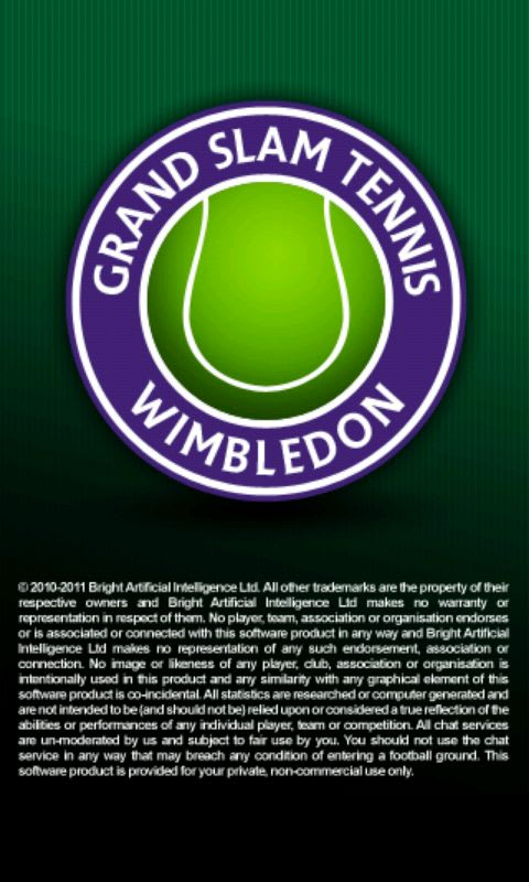Wimbledon Grand Slam Tennis