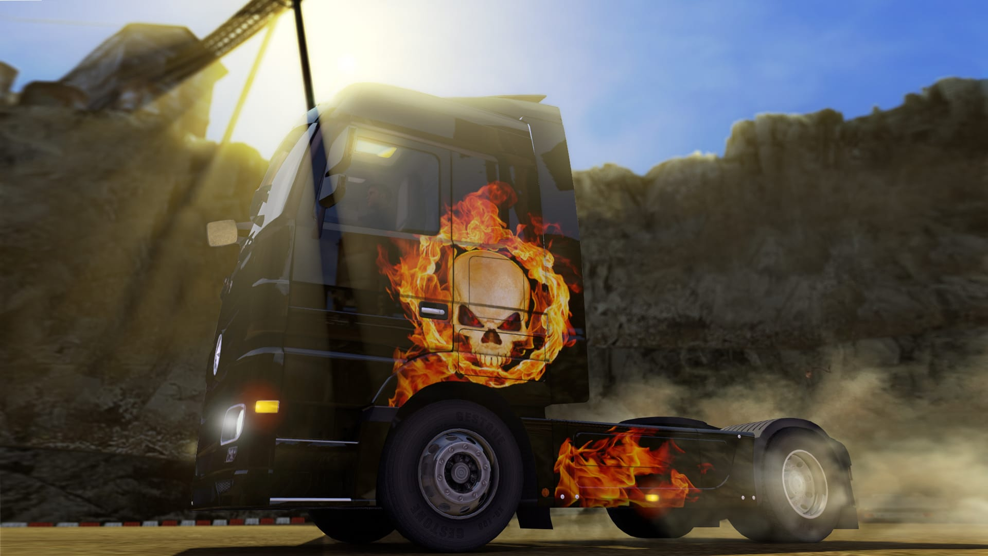 Euro Truck Simulator 2 - Halloween Paint Jobs Pack