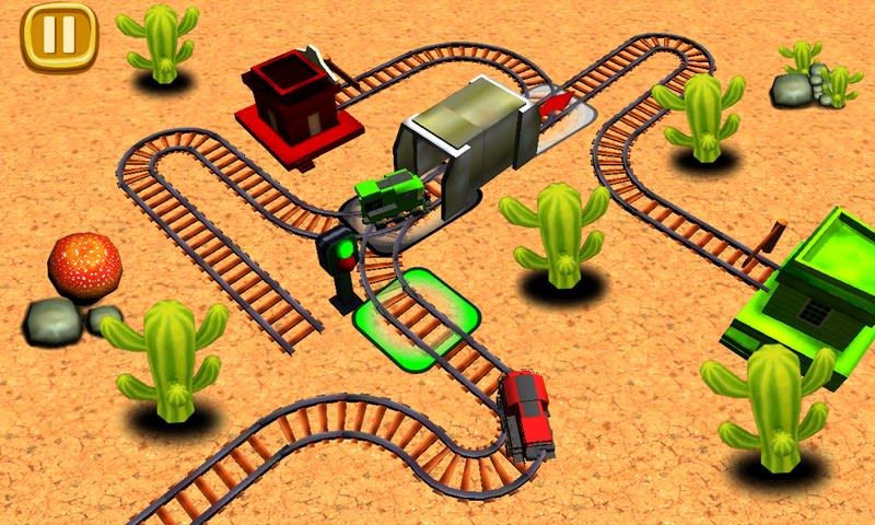Train Track Builder 3D