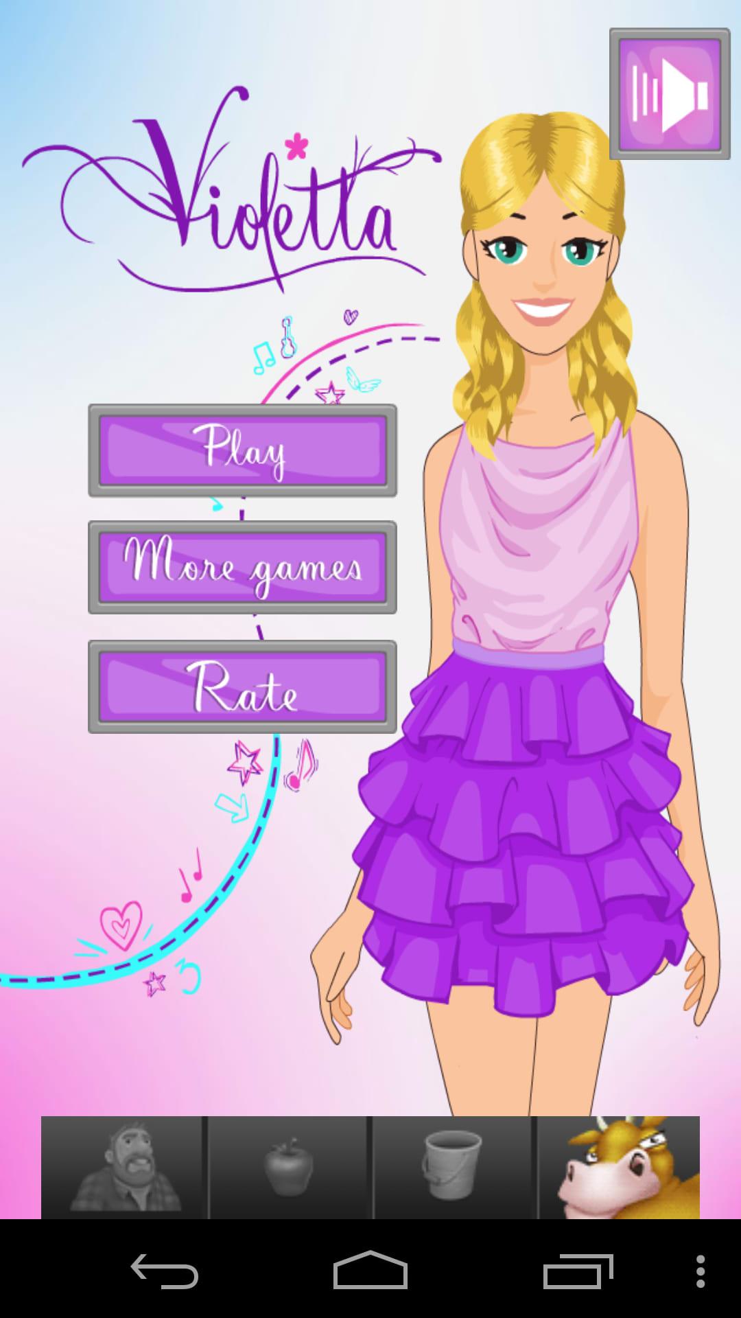 kostenlose spiele von violetta