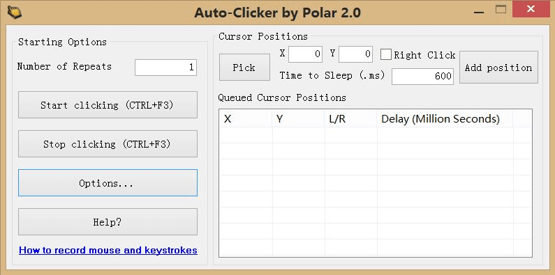 Free Mouse Auto Clicker  Free download and software