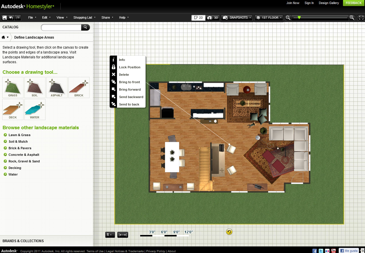 Autodesk homestyler online for Homestyler 3d