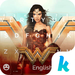 Wonder Woman Kika Emoji Theme 1.0