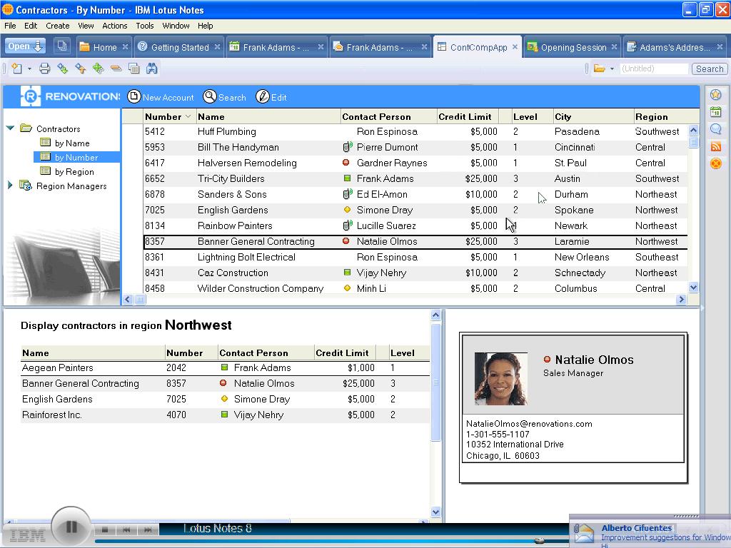 iNotes and Sametime integration - IBM