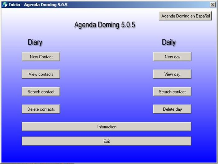 Agenda Doming