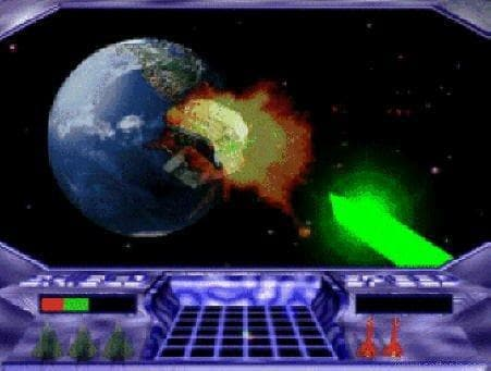 3D Planet Attack