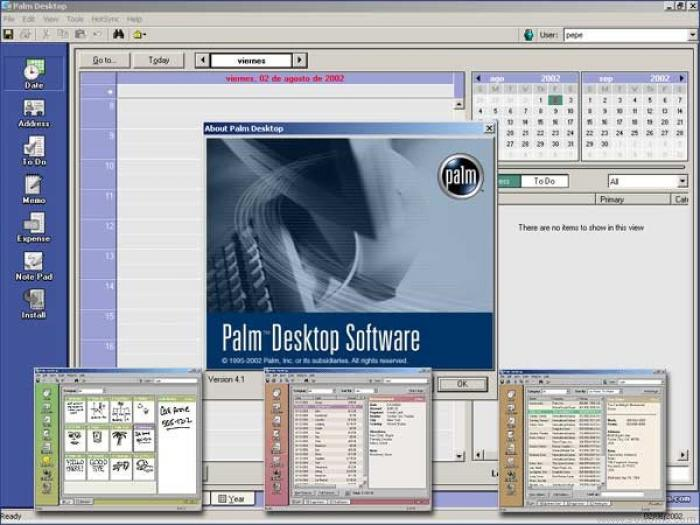 Palm Desktop 6.2 + HotSync 7