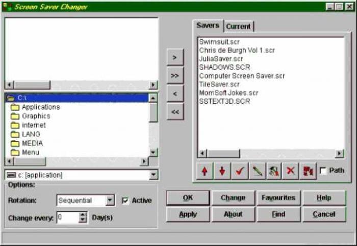 Screen Saver Changer