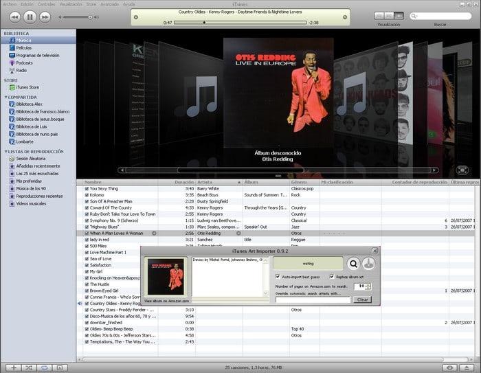 iTunes Art Importer