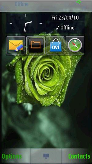 Temat Green Rose